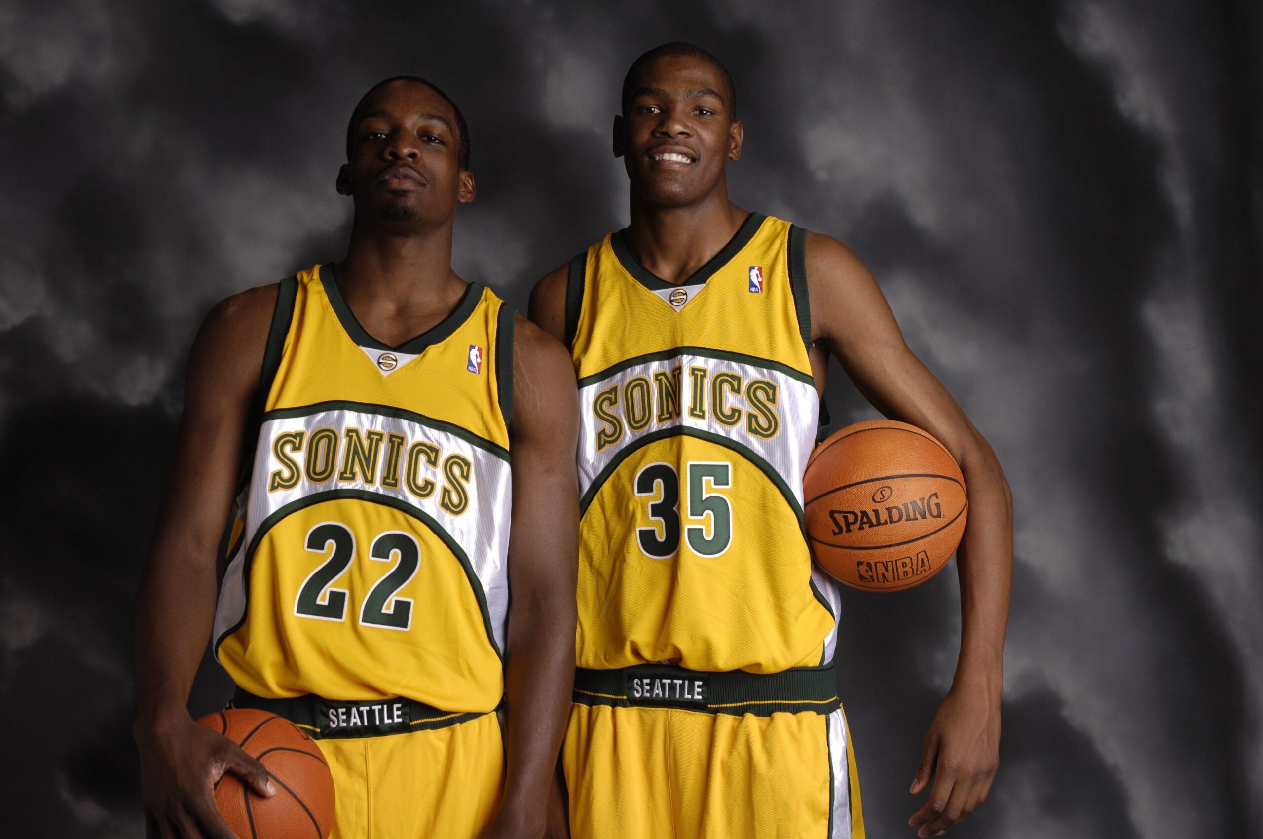 Jeff Green e Kevin Durant hanno cominciato la loro carriera NBA a Seattle
