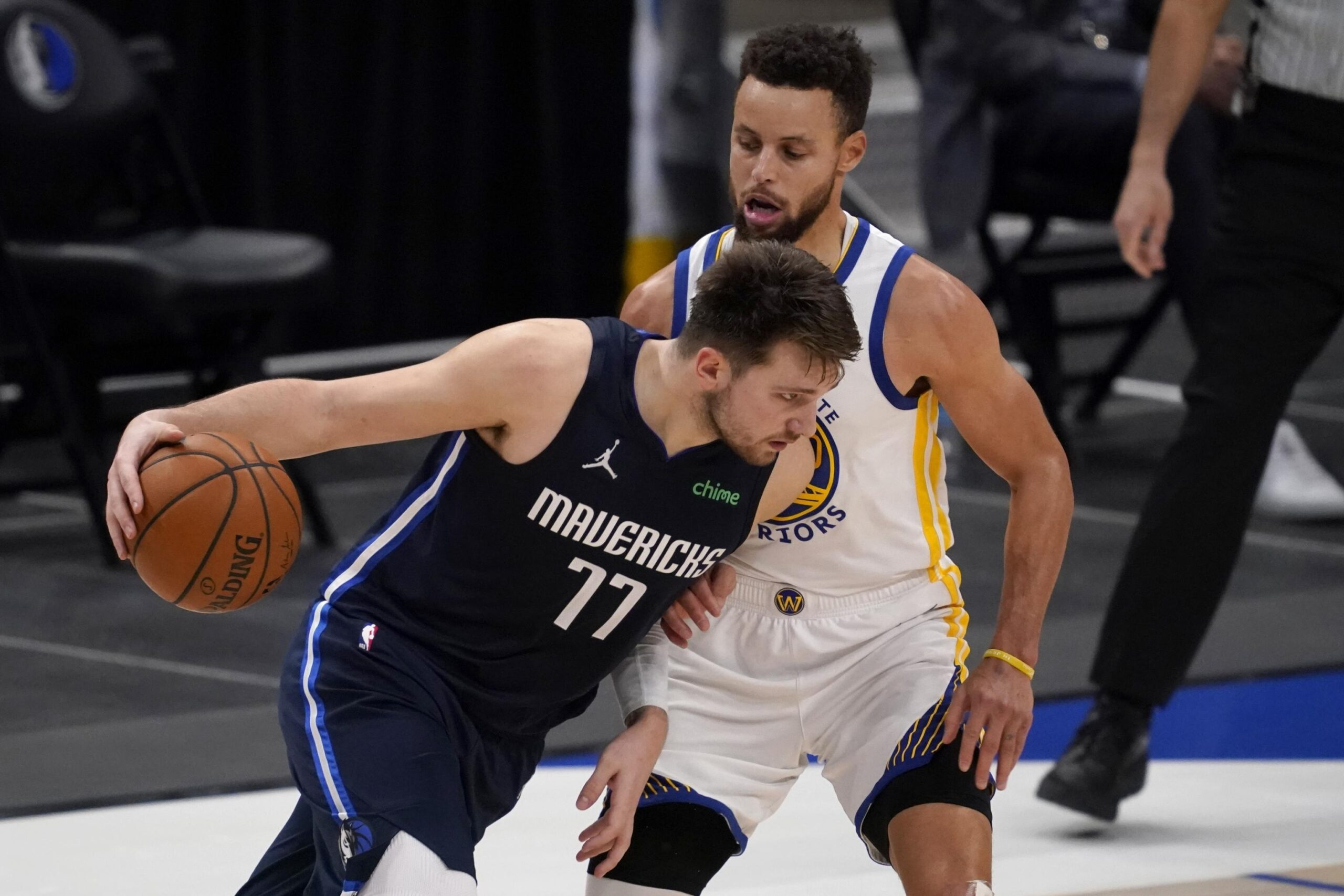 Le candidature a MVP di Luka Doncic e Stephen Curry sono penalizzate dal record di squadra non entusiasmante